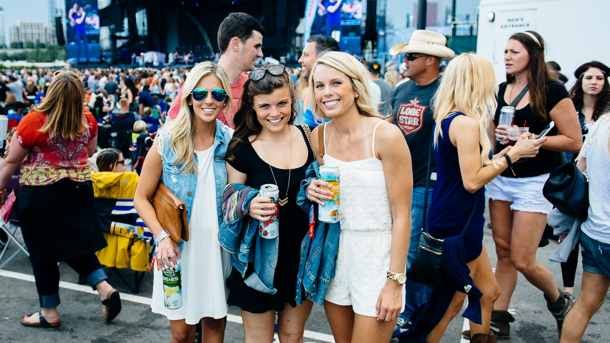 Windy City LakeShake Country Music Festival, June 20, 2015 at Northerly Island, Chicago.