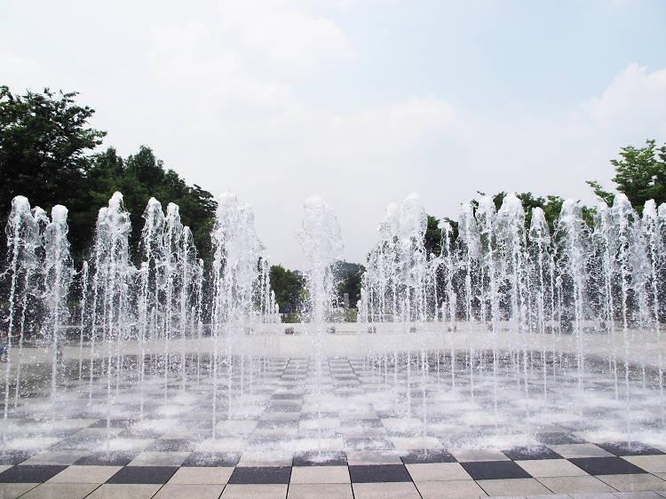 서울숲 바닥분수