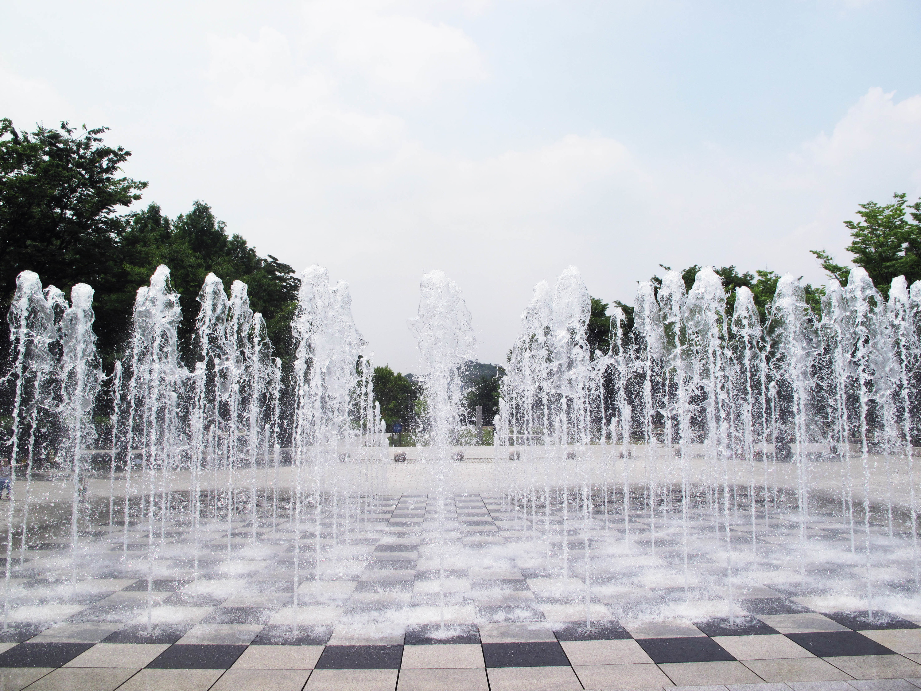 Ground Fountain at Seoul Forest