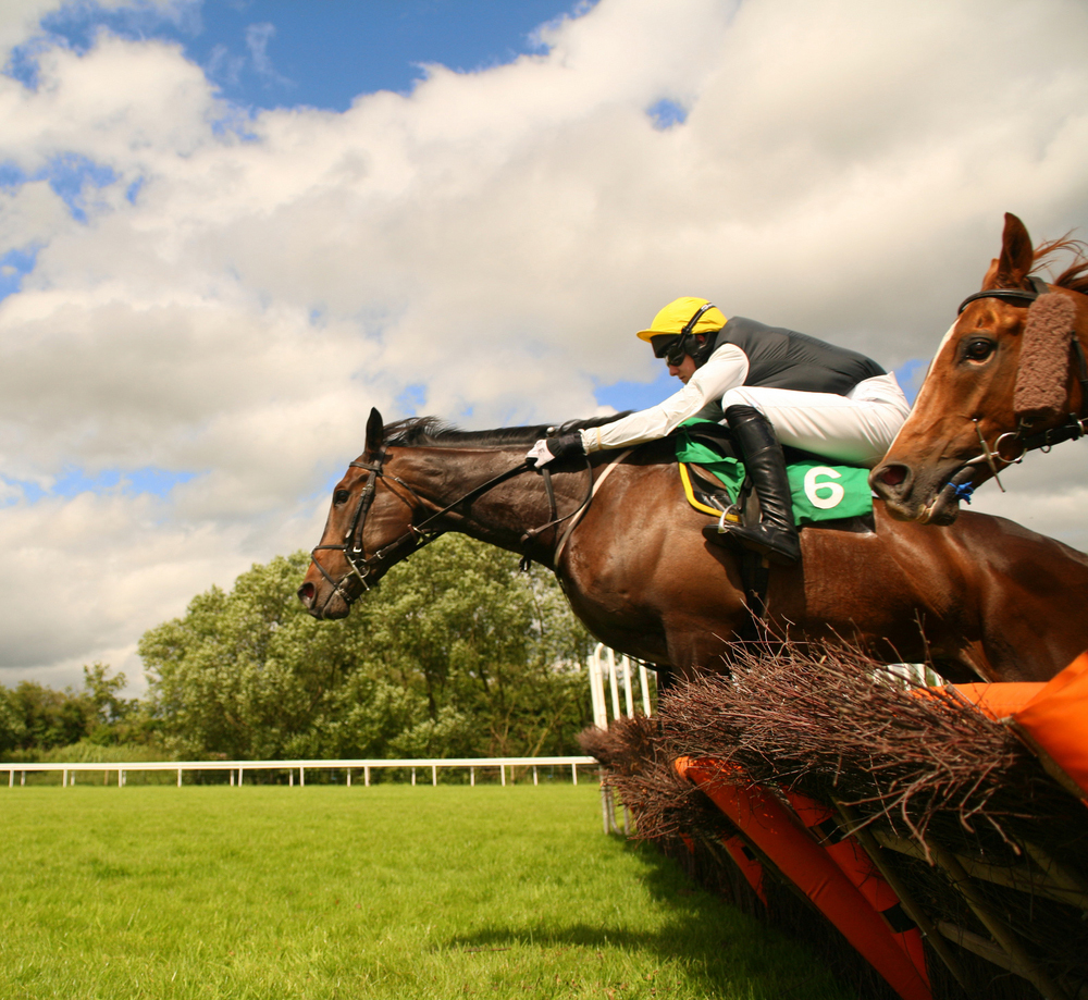 2. Jump racing: the obstacle course