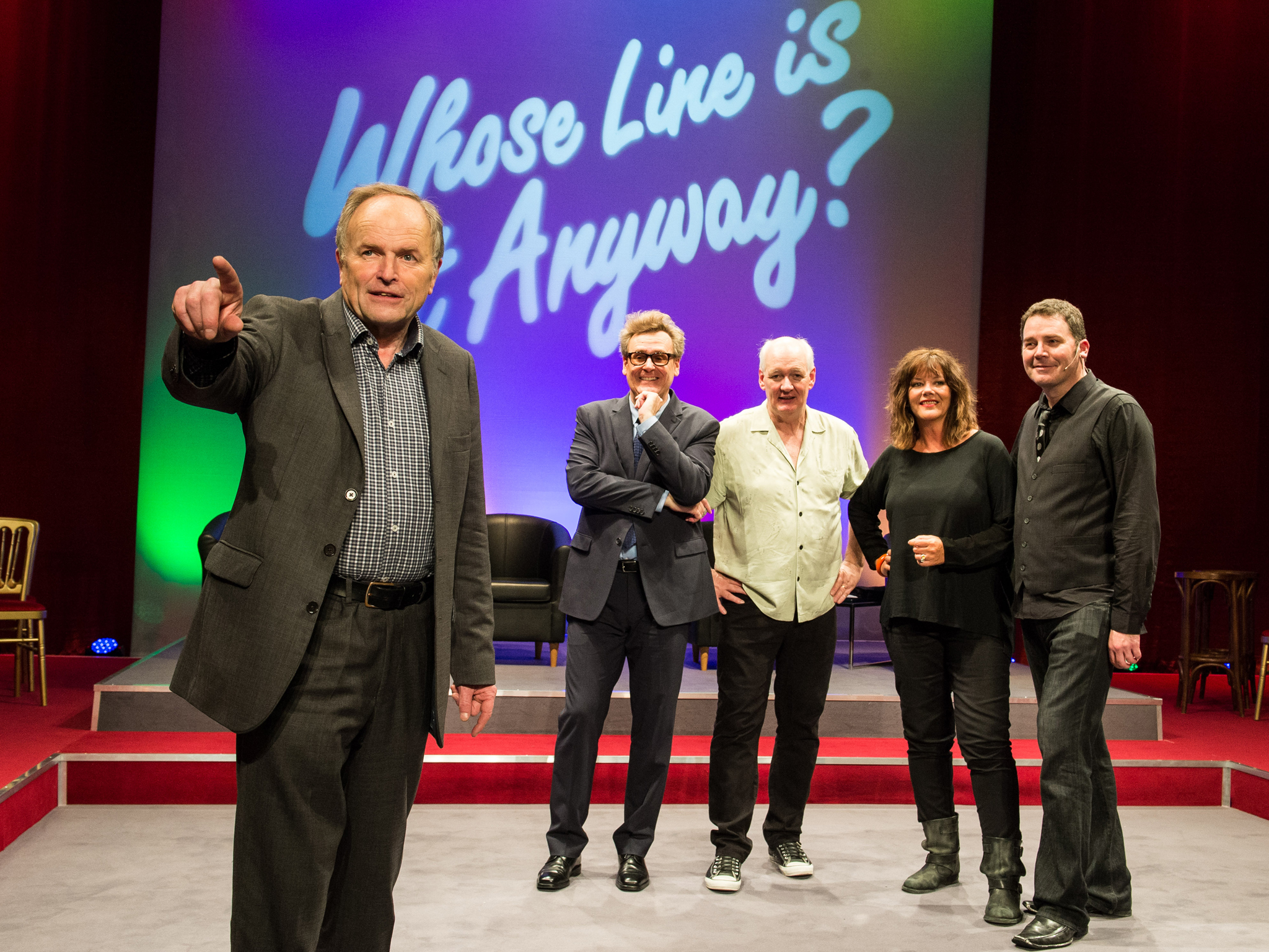 Whose Line Is It Anyway?… Live