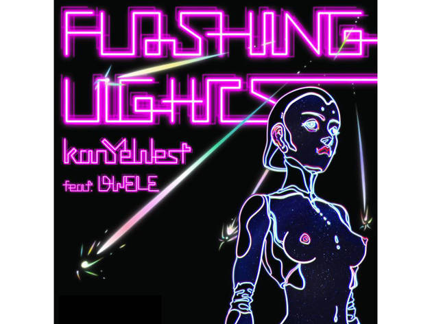 Kanye West – flashing lights