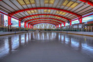 Riverbank State Park Skating Rink