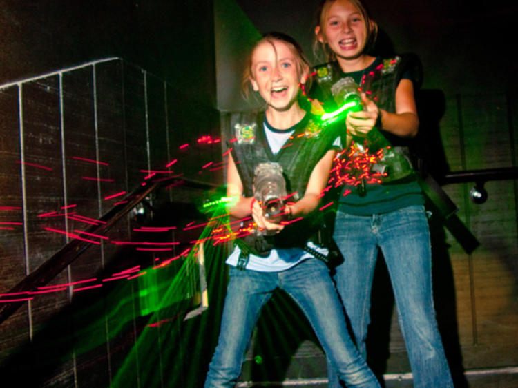The best laser tag in NYC