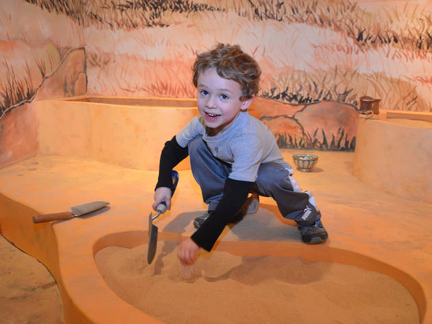 Play archaeologist for a day
