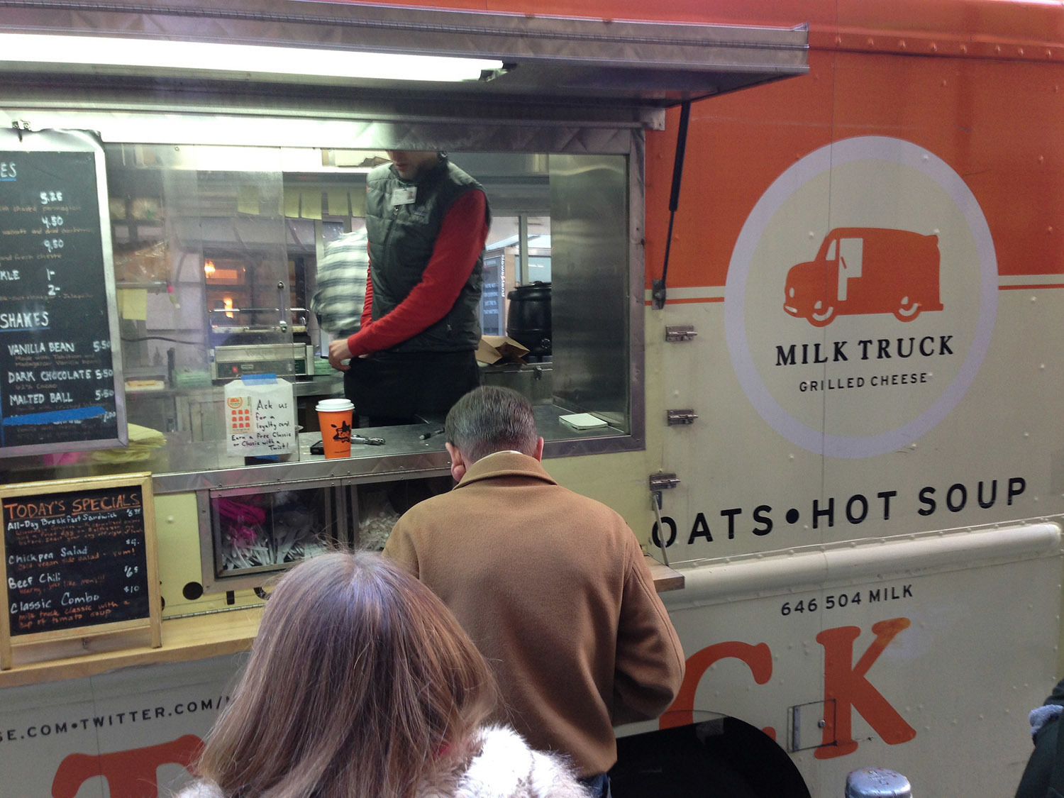 Milk Truck Grilled Cheese