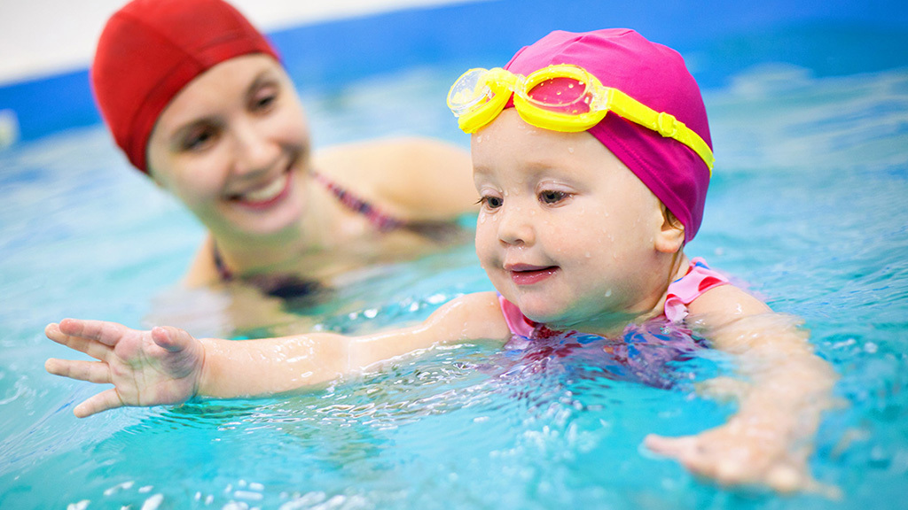 Swimming lessons at 92Y