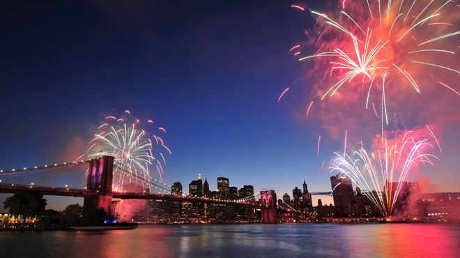 Watch the 4th of July fireworks in NYC with kids (from these cool spots)