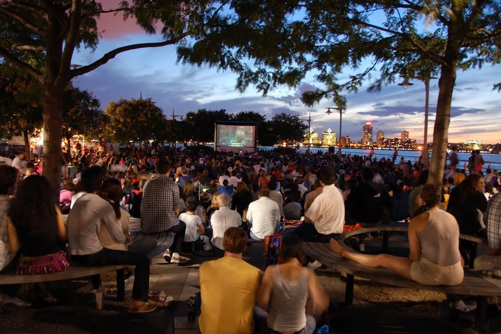 Catch a free outdoor movie