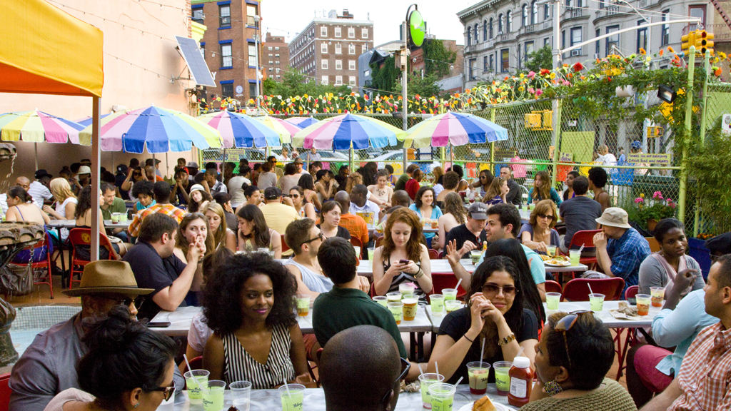 The best kid-friendly outdoor dining in NYC