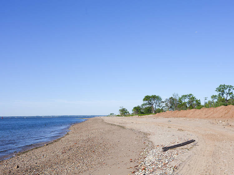 Wolfe's Pond Park Beach