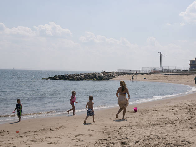 NYC beaches for families