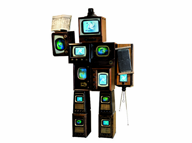 """Inspired by Nam June Paik: Becoming Robot"""