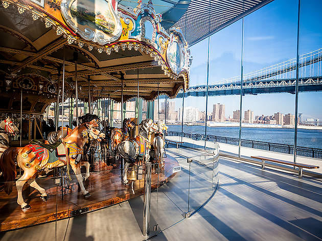 Carousels in New York City