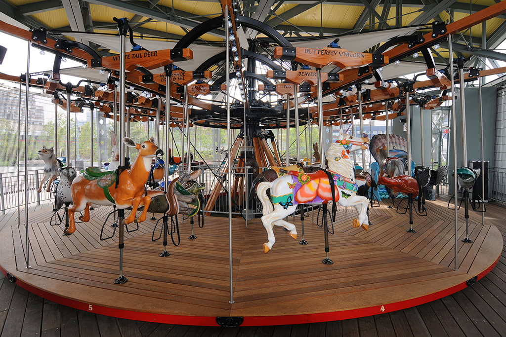 Carousel at Pier 62