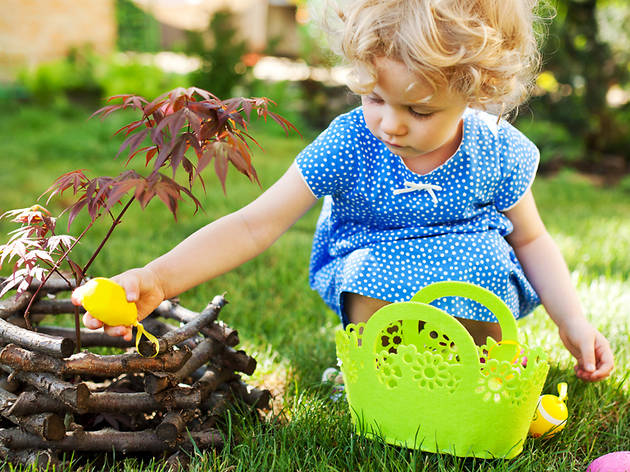 Easter egg hunt events for kids