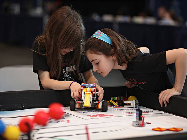 NY FIRST 2015 Regional Robotics Competition & Expo