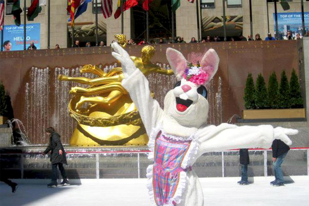 Easter at The Rink at Rockefeller Center & Easter Brunch at Stella 34 Trattoria