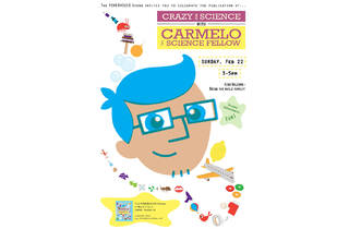 Book Launch: Crazy For Science with Carmelo the Science Fellow