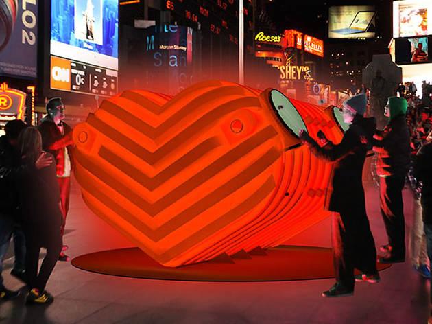 HEARTBEAT Times Square