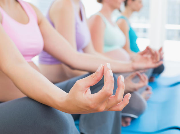 Prenatal yoga classes for expecting parents in NYC
