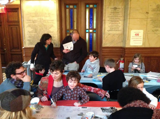 Preservation Detectives Family Program: What's Your Dream?