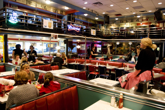 Visit one of NYC's quirky theme restaurants