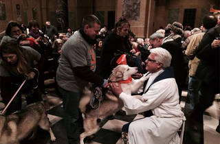 Blessing of the Animals at Christ Church of Manhattan