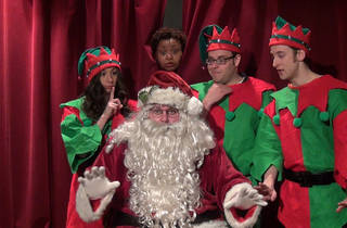Breakfast with Santa at the Broadway Comedy Club