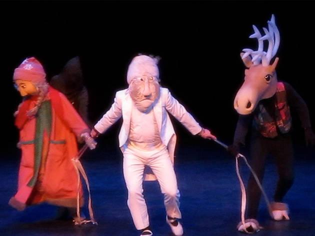 Hudson Vagabond Puppets' The Snow Queen