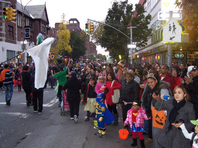 Jackson Heights Halloween Parade