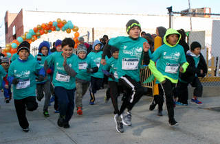 Long Island City YMCA Kids Turkey Dash