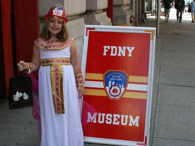 NYC Fire Museum Children's Halloween Party