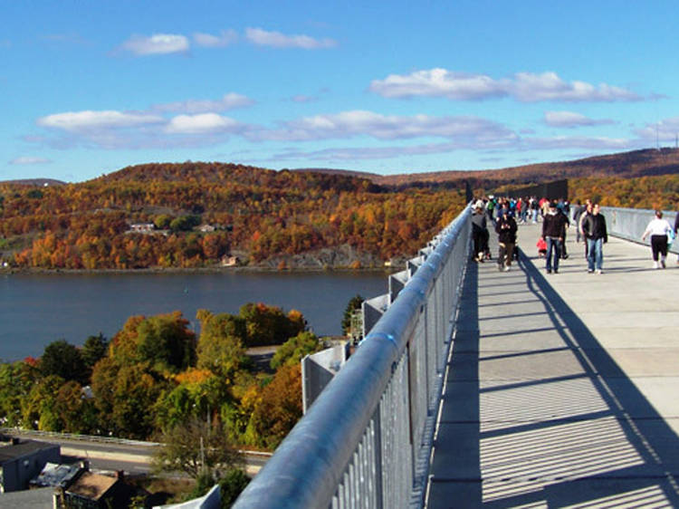 1.5–2 hours away: Walkway Over the Hudson