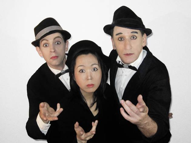 Meet the Artist: The Funny Bones Mime Trio