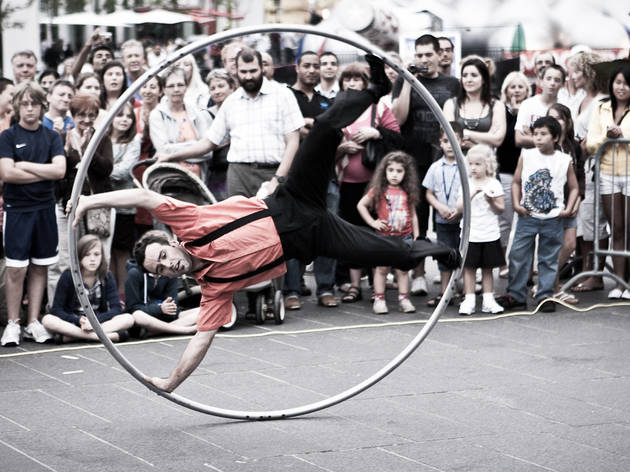 SummerStage Kids International Contemporary Circus Festival