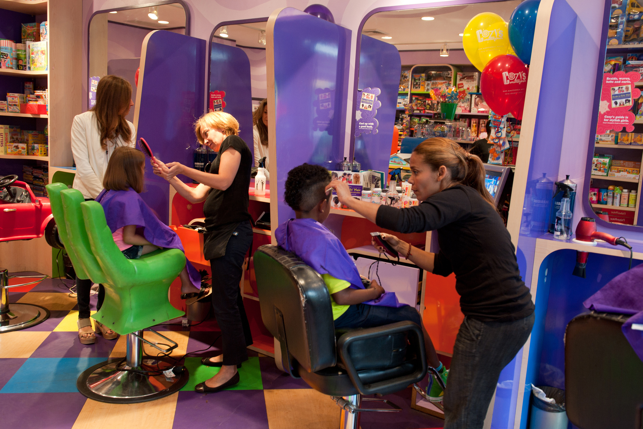 Kids haircuts at nyc 39 s best salons for children for Salon baby cool