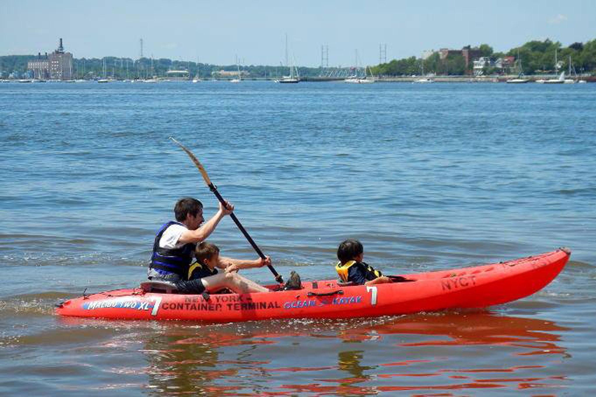 Kayaking at Kayak Staten Island