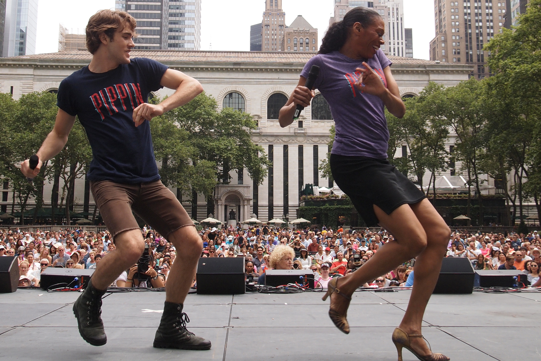 See Broadway hits for free in Bryant Park