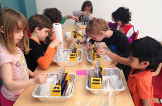 Hands-On Science Workshops at the Tiny Scientist