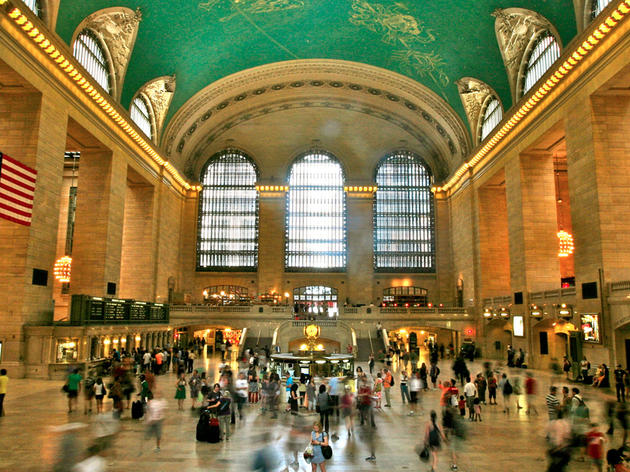 Mother's Day at Grand Central