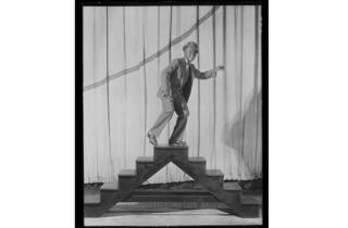 Optional caption: Bill Robinson (Bojangles) starred in Blackbir