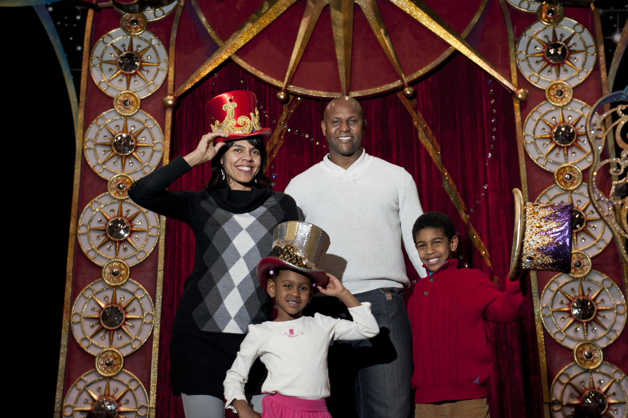 Family Portrait: Ringmaster Johnathan Lee Iverson