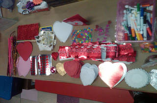 Valentine's Day at the Craft Studio