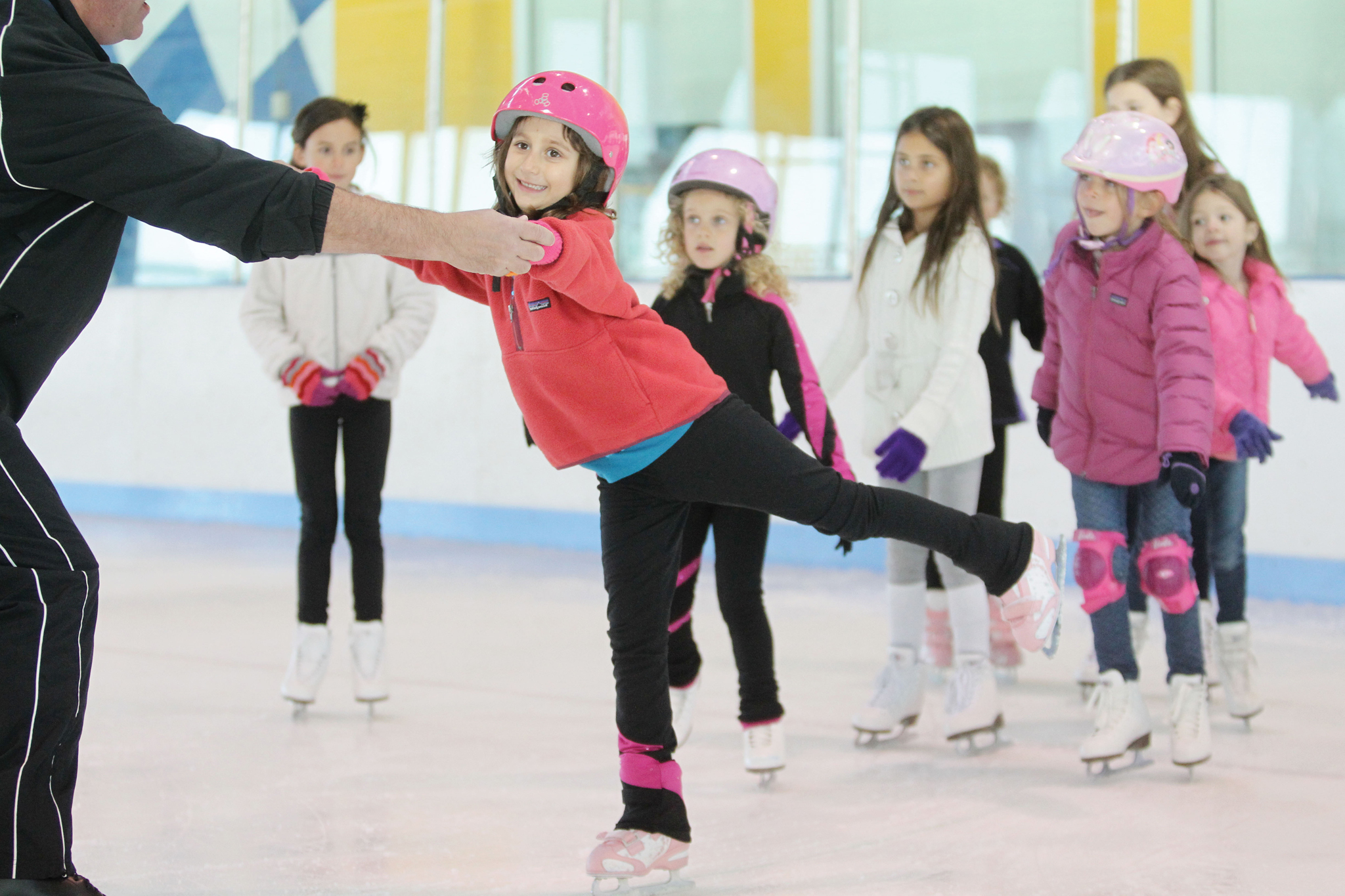 Best ice skating lessons for NYC kids