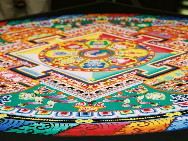 Sand Mandala Making