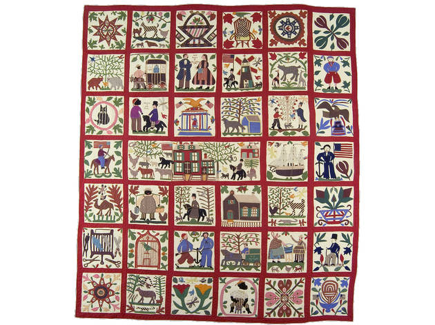 """Homefront & Battlefield: Quilts & Context in the Civil War"""