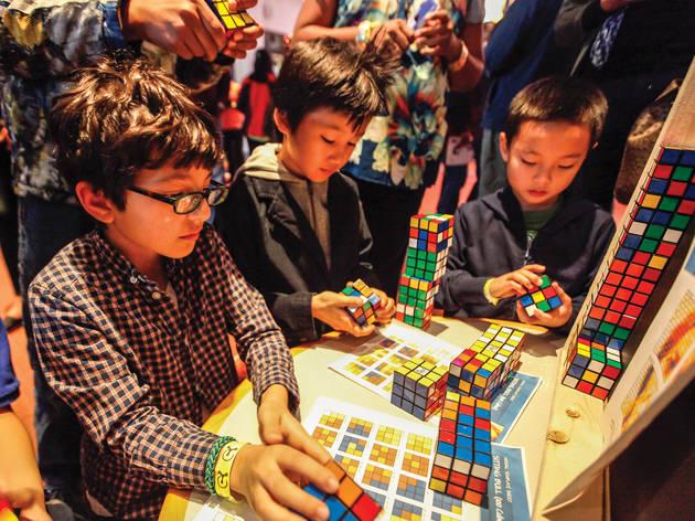 """Beyond Rubik's Cube"""