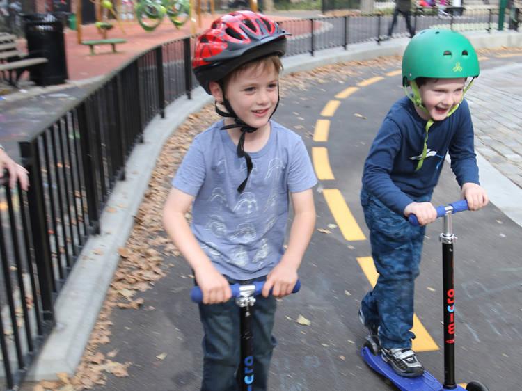 Best new outdoor track: Slope Park