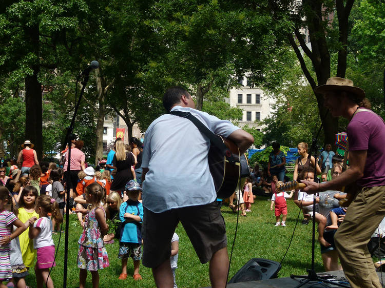 Best place to see a family concert: Mad. Sq. Kids summer concert series